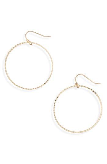 Women's Bp. Textured Hoop Earrings