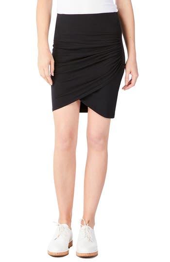 Women's Michael Stars Faux Wrap Miniskirt