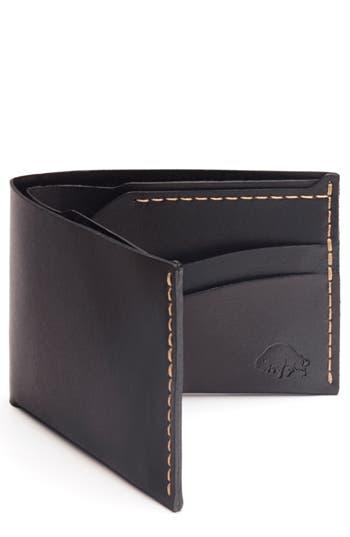 Ezra Arthur No. 6 Leather Wallet - Black