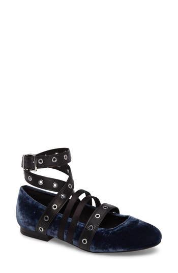 Women's Kenneth Cole New York Wade Grommet Ankle Wrap Flat