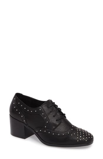 Coconuts By Matisse Fleur Studded Oxford Pump- Black