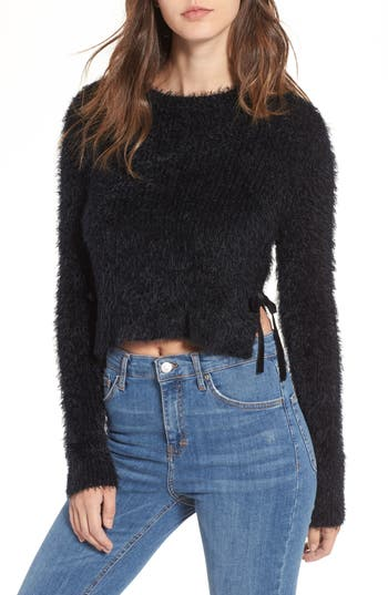 Majorelle MAJESTY TIE CROP SWEATER