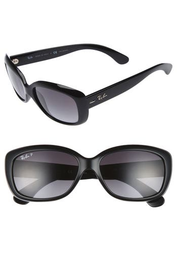 Ray-Ban 5m Polarized Sunglasses - Black Grey