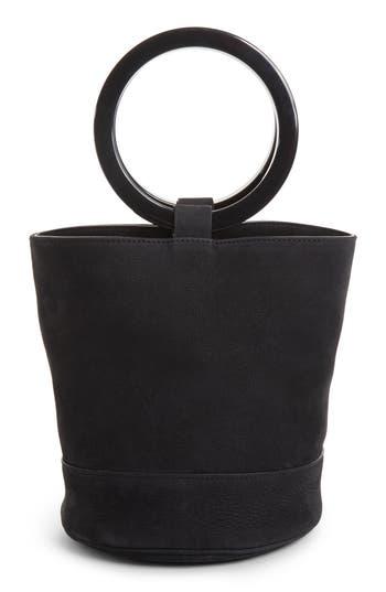 Simon Miller BONSAI NUBUCK BUCKET BAG - BLACK
