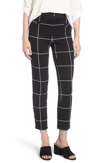 Women's Leith Windowpane Print Skinny Pants