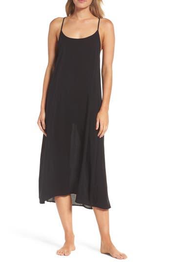 Women's Lacausa Racerback Slipdress, Size Small - Black