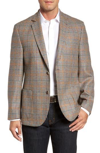 Men's Flynt Houndstooth Wool Blend Sport Coat