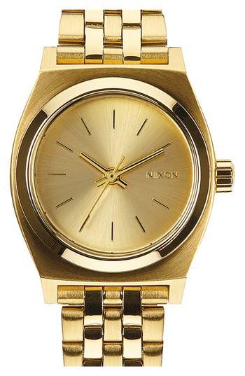 Women's Nixon 'The Small Time Teller' Bracelet Watch, 26Mm
