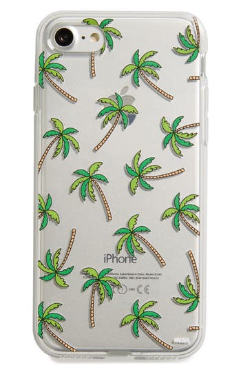 Milkyway Palm Trees Iphone 7 Case - Green