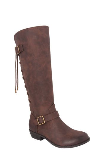 Girl's Nina Gessica Buckle Strap Riding Boot