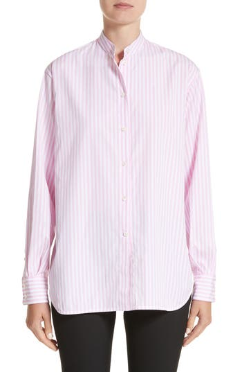Women's Victoria Beckham Cotton Grandad Shirt