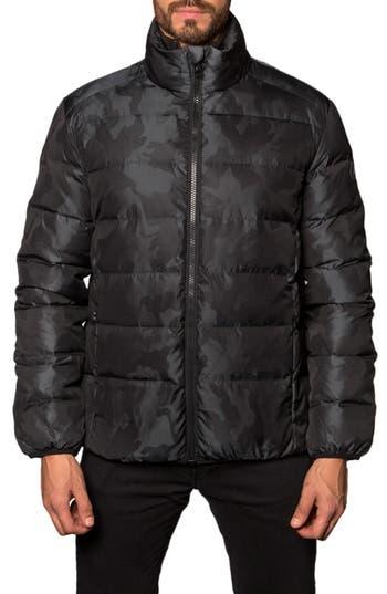Jared Lang Down Puffer Jacket, Black