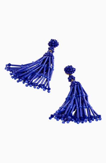 Women's J.crew Long Tassel Earrings