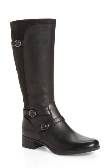 Dansko Lorna Tall Boot-6- Black