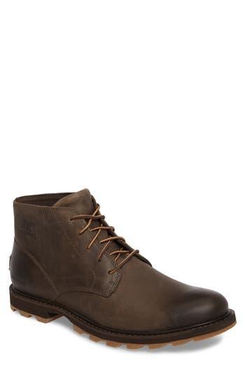 Sorel Madson Waterproof Boot- Brown