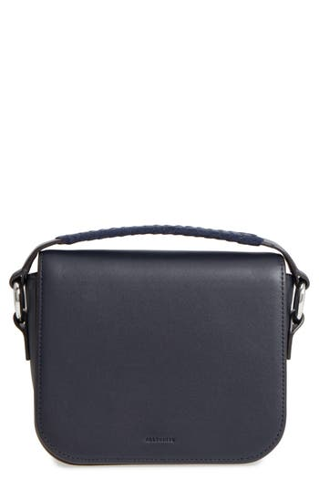 Allsaints Ray Leather Clutch -