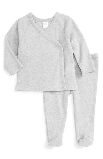 Infant Nordstrom Baby Rib Knit T-Shirt & Pants Set
