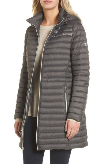 Women's Michael Michael Kors Water Repellent Hooded Down Anorak