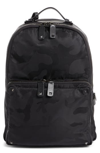 Men's Valentino Camo Backpack -