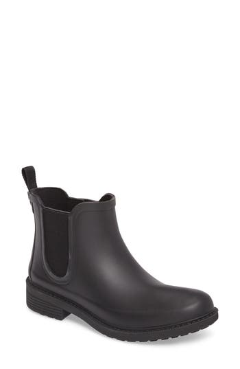 Madewell Waterproof Chelsea Rain Boot, Black