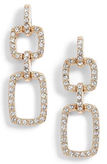 Women's Judith Jack Pavé Crystal Drop Earrings
