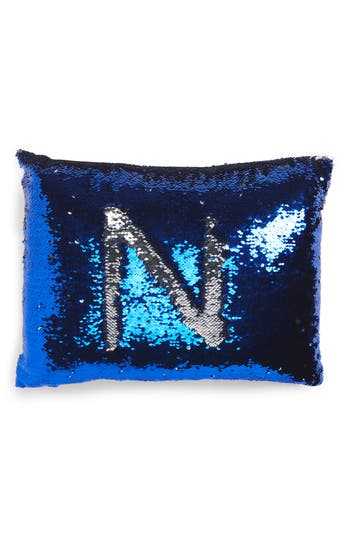 Levtex Sequin Pillow, Size One Size - Blue