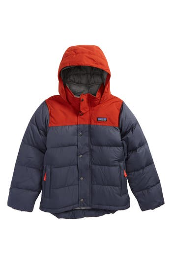 Boy's Patagonia Bivy Water Repellent Down Jacket
