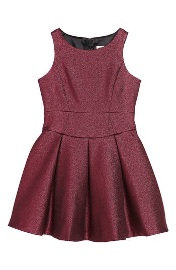 Girl's Milly Minis Fit & Flare Dress, Size 8 - Pink