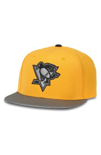 Men's American Needle Chromel Nhl Baseball Cap - Yellow