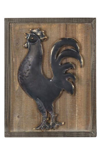 Foreside Early Riser Rooster Wall Art