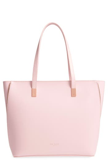 Ted Baker London Softii Leather Shopper - Pink