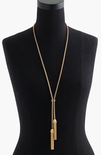Women's J.crew Tassel Chain Necklace