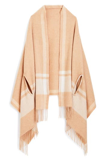 Women's J.crew Claire Wool Cape Scarf