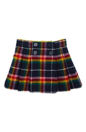 Girl's Mini Boden Plaid Kilt Skirt