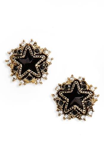 Women's Cara Crystal Star Stud Earrings