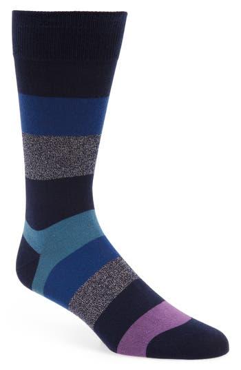 Men's Paul Smith Starlight Socks, Size One Size - Black