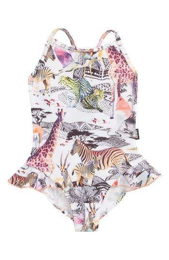 Toddler Girl's Molo Noona One-Piece Swimsuit