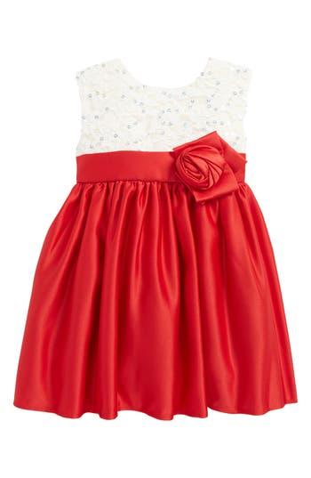 Infant Girl's Dorissa Embroidered Fit & Flare Dress