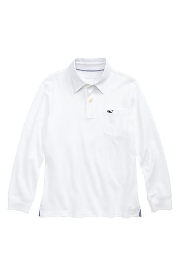 Boy's Vineyard Vines Pima Cotton Jersey Polo