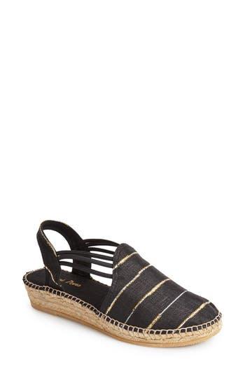 Women's Toni Pons 'Nantes' Silk Stripe Sandal