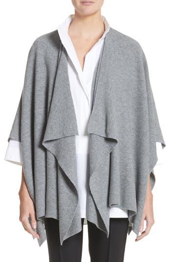 Lafayette 148 New York Cashmere Wrap, Size One Size - Grey