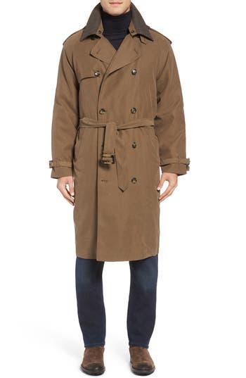 1950s Style Mens Clothing Mens London Fog Trench Coat Size 48L - Beige $254.98 AT vintagedancer.com