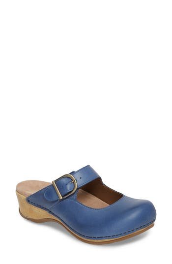 Dansko 'MARTINA' MARY JANE BUCKLE CLOG
