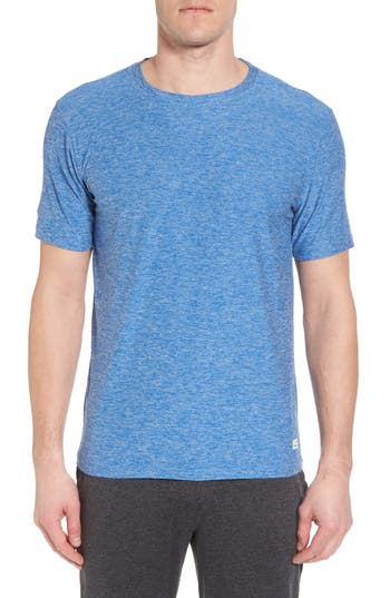 Vuori Strato Slim Fit Crewneck T-Shirt, Blue