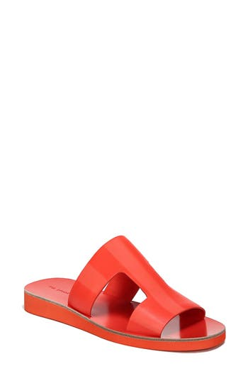 Women's Via Spiga Blanka Sandal, Size 7 M - Orange