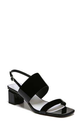 Women's Via Spiga Forte Block Heel Sandal, Size 5 M - Black