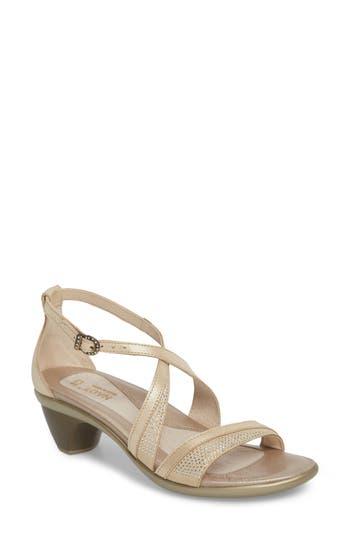 Women's Naot Onward Sandal, Size 4US / 35EU - Metallic