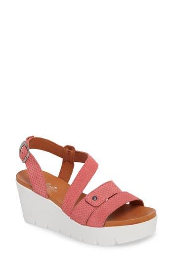 Women's Bos. & Co. Sierra Platform Wedge Sandal, Size 8-8.5US / 39EU - Pink