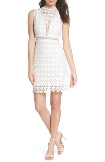 Sam Edelman Star Lace Sheath Dress, Ivory