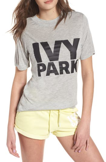 Ivy Park PROGRAMME FITTED LOGO TEE
